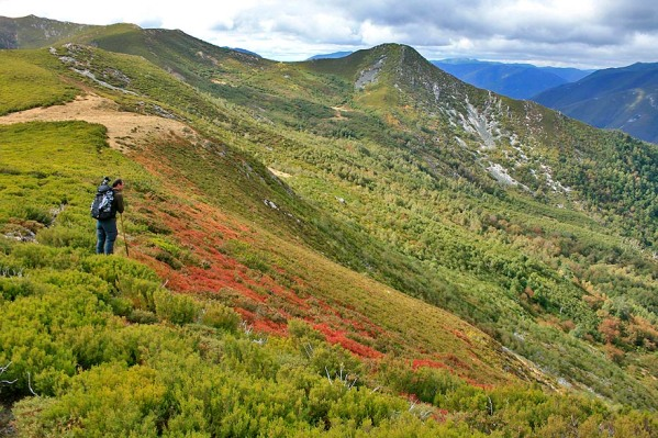 Las montañas del parque natural Fuentes del Narcea, Degaña e Ibias