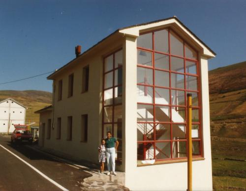 Albergue de Leitariegos. 1.991