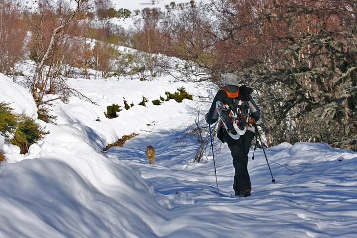 Raquetas de nieve, con NATUR